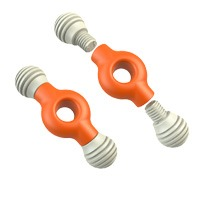Mod Bonz x 2 Orange 16cm R 255